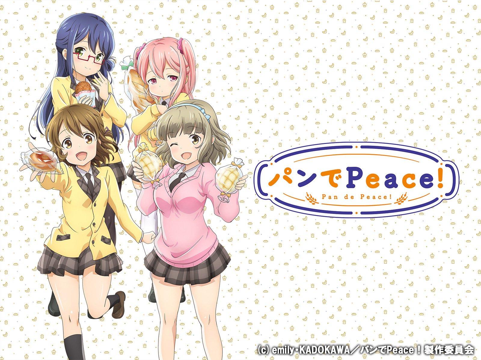 [Snow-Raws] 面包带来和平!/Pan de Peace!/パンでPeace!(BD 1920×1080 HEVC-YUV420P10 FLAC)