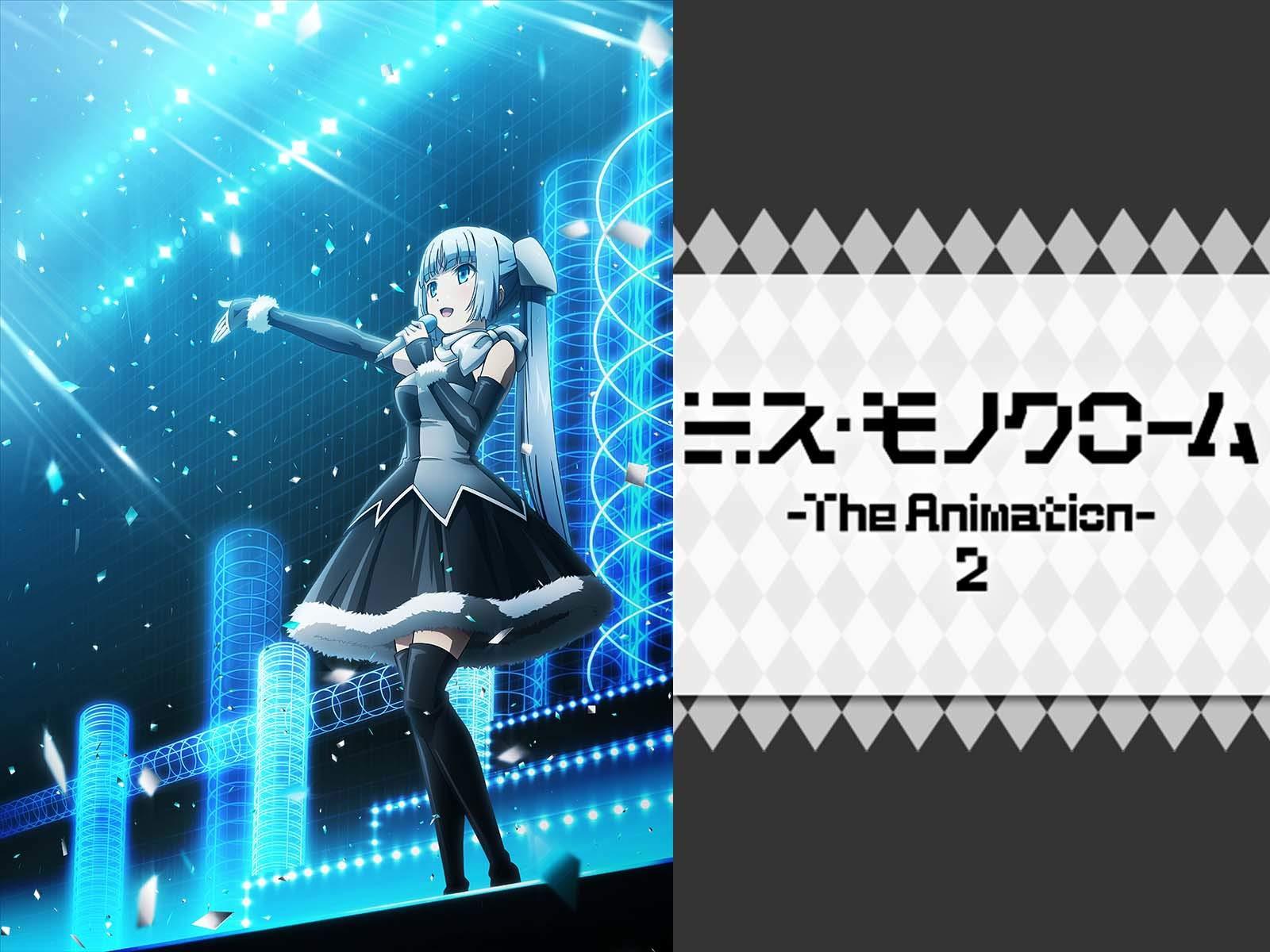 黑白小姐 第二季+第三季/Miss Monochrome: The Animation 2&3/ミス・モノクローム -The Animation- 2&3 [BD 1920x1080 HEVC-YUV420P10 FLAC][Snow-Raws]